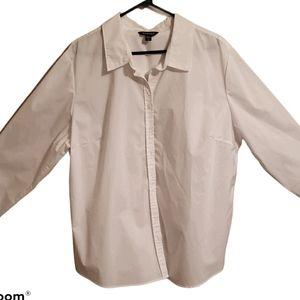 White dress women's blouse